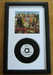 THE BEATLES - SGT PEPPER'S LONELY HEARTS CLUB BAND CD Disc presentation